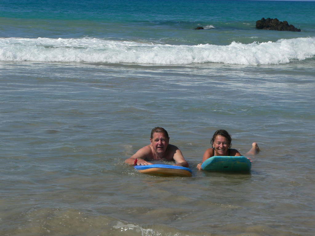 In Hawaii (Hapuna Beach), trade in January 2015 exchange