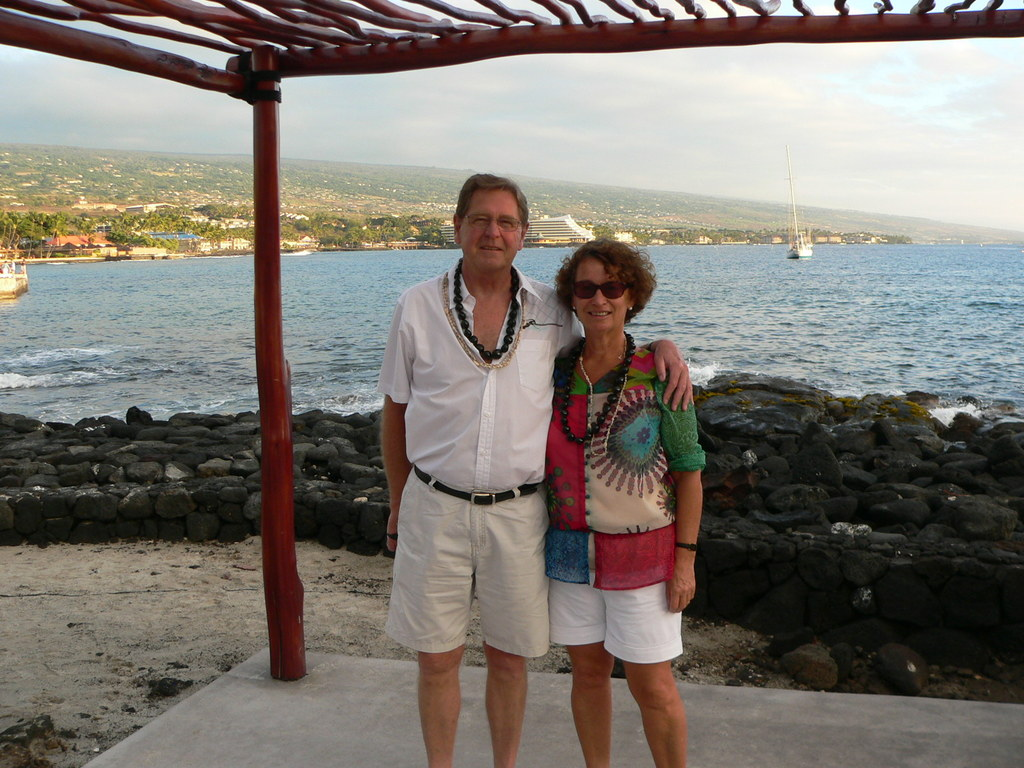 In Hawaii (Kailua Kona) exchange in December 2014