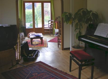 Allevard. Living room