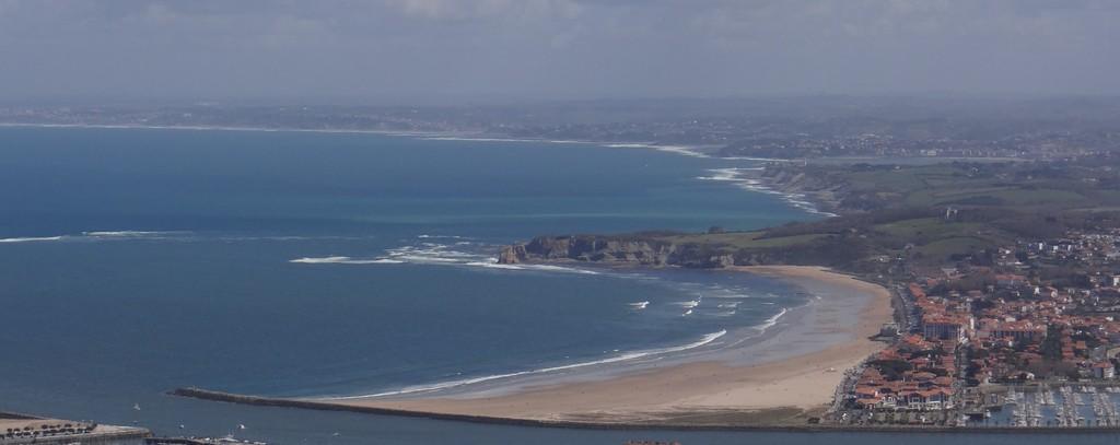 Hendaye main beach