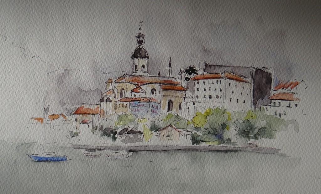 Fontarabia an historical city in spanish side