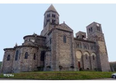 Romanic church Saint Nectaire