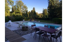 piscine et jardin / pool and garden
