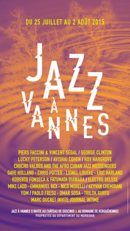 Jazz festival in Vannes during summer