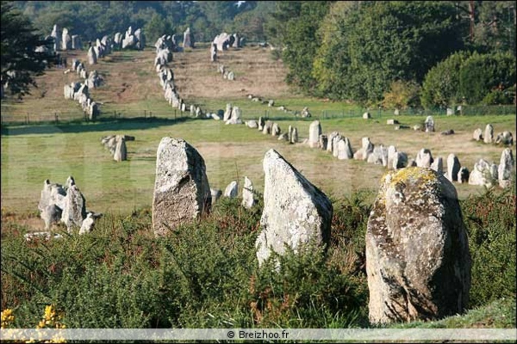 Carnac megaliths - 35/40 min.