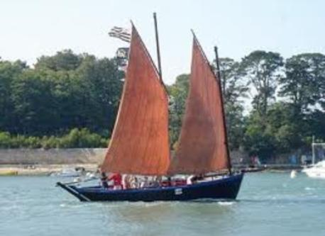 Sinagot, famous sailboat of the Golfe du Morbihan