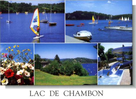 lac de Chambon 3km far