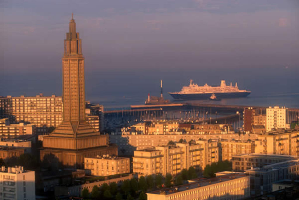 Le Havre, 40 mintues from home. 