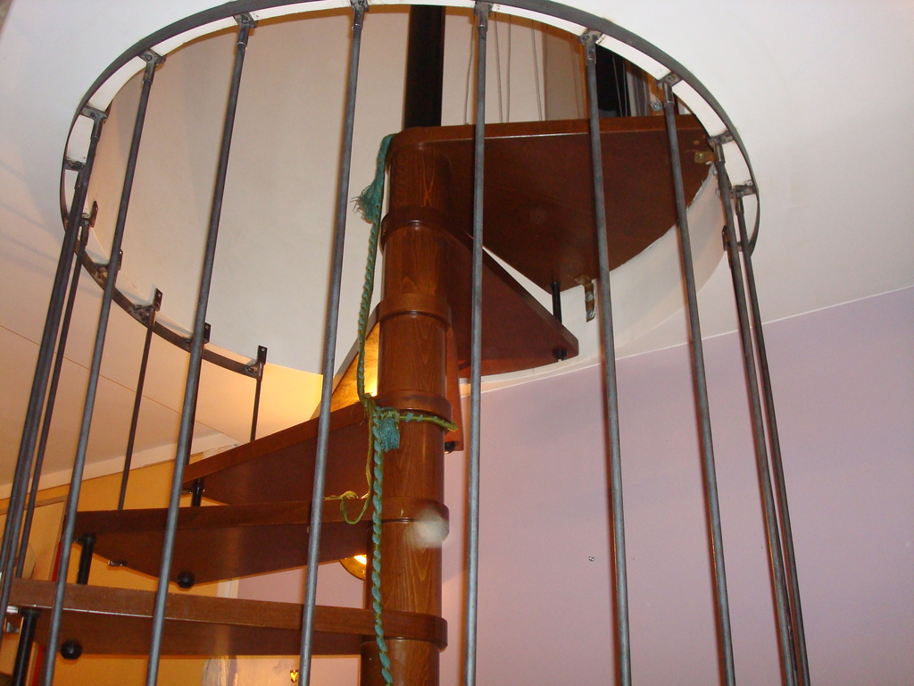Escalier protègé