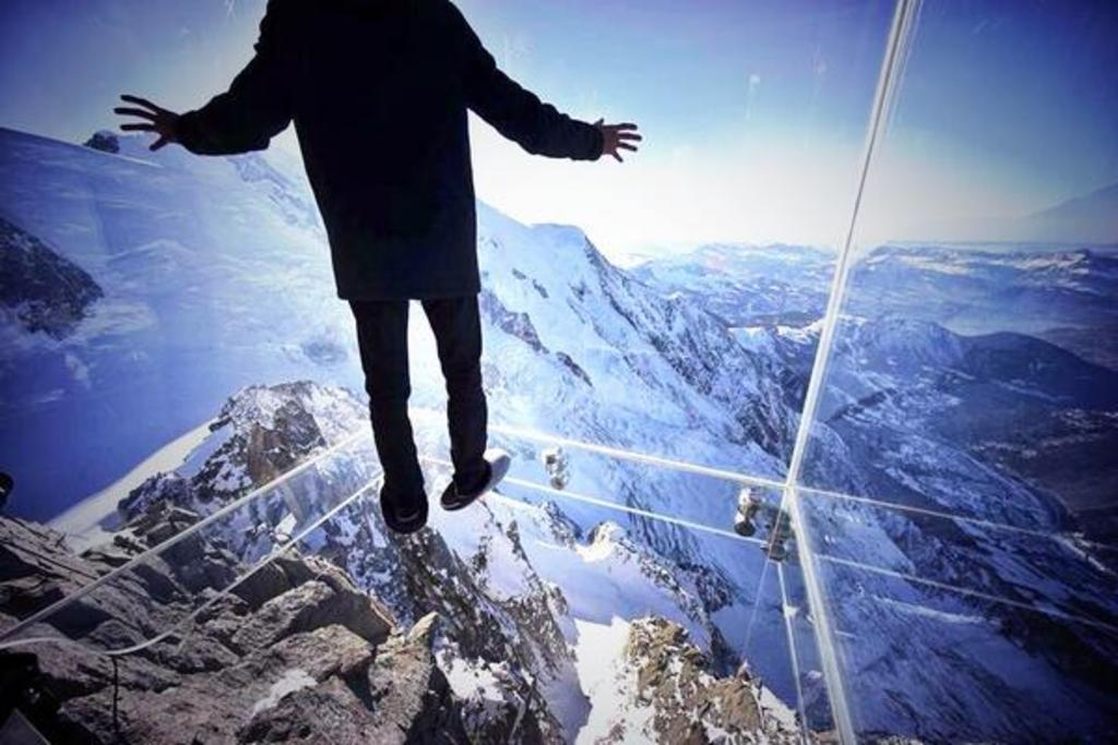 Skywalk, Chamonix, massif du Mont Blanc (1 h 40 by car)
