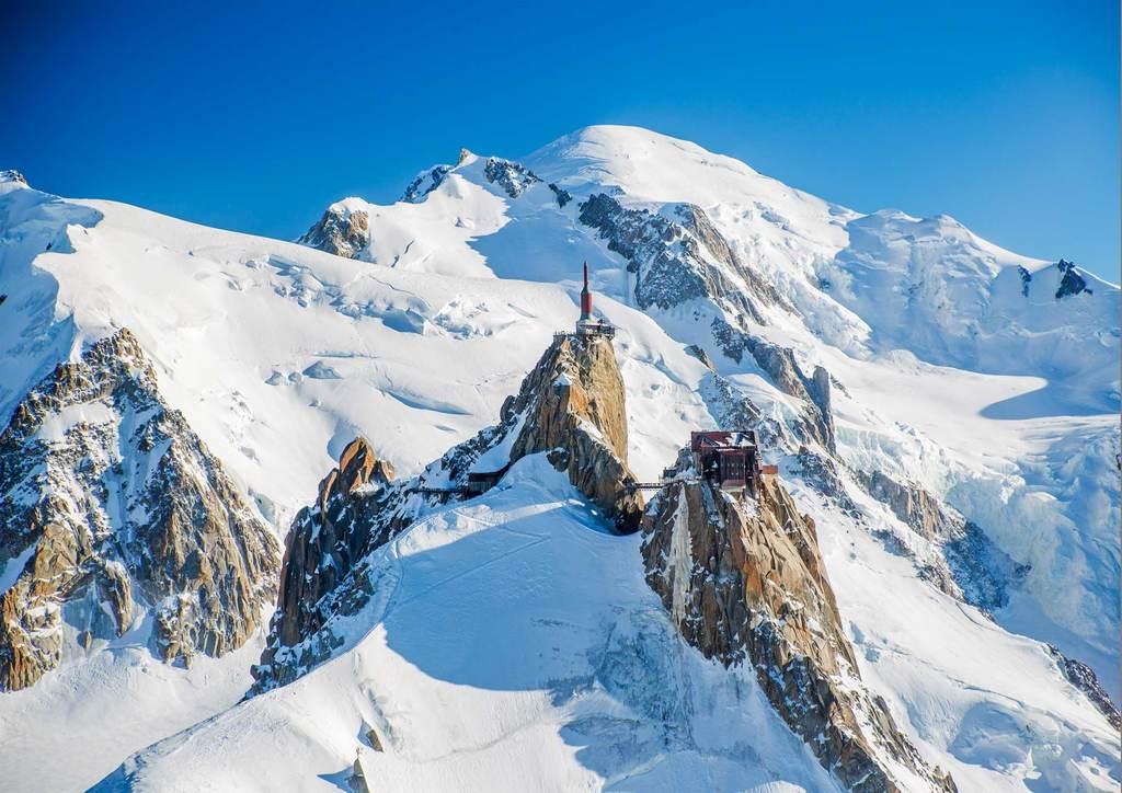 Chamonix, aiguille du midi, massif du Mont Blanc (1 h 40 by car)
