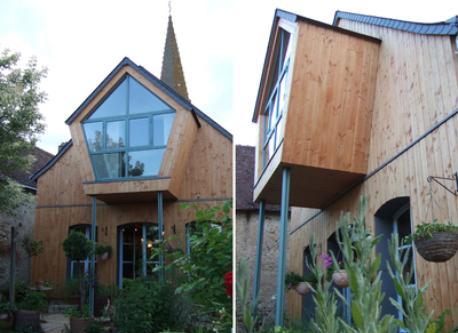 The house, garden side