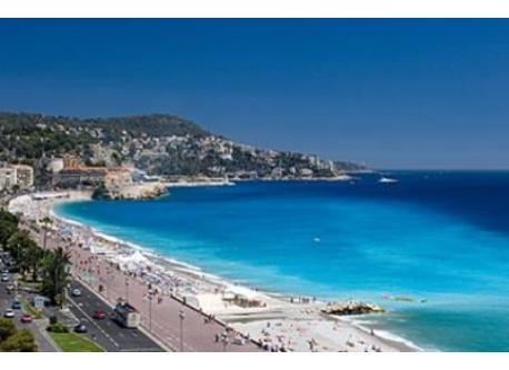 Nice , french riviera . it's not the view of the house
