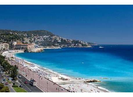 Nice, french Riviera. Not the view from home :)