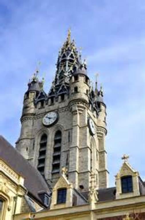 Douai's famous Belfry tower, a UNESCO heritage site