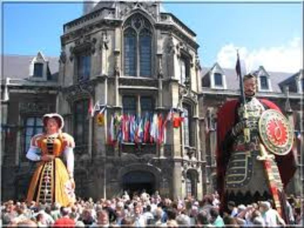 Gayant the giant is one symbole of Douai. Each year on the beginning of July, during three days take place the Gayant festiva...