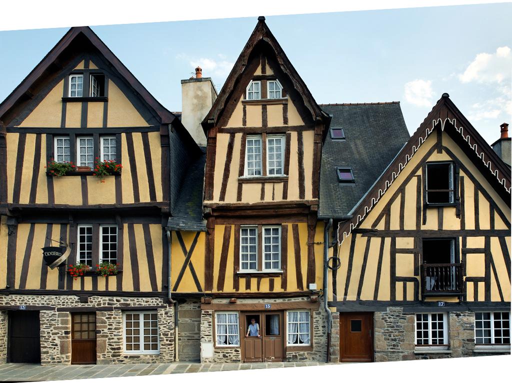vieilles maisons de Fougères