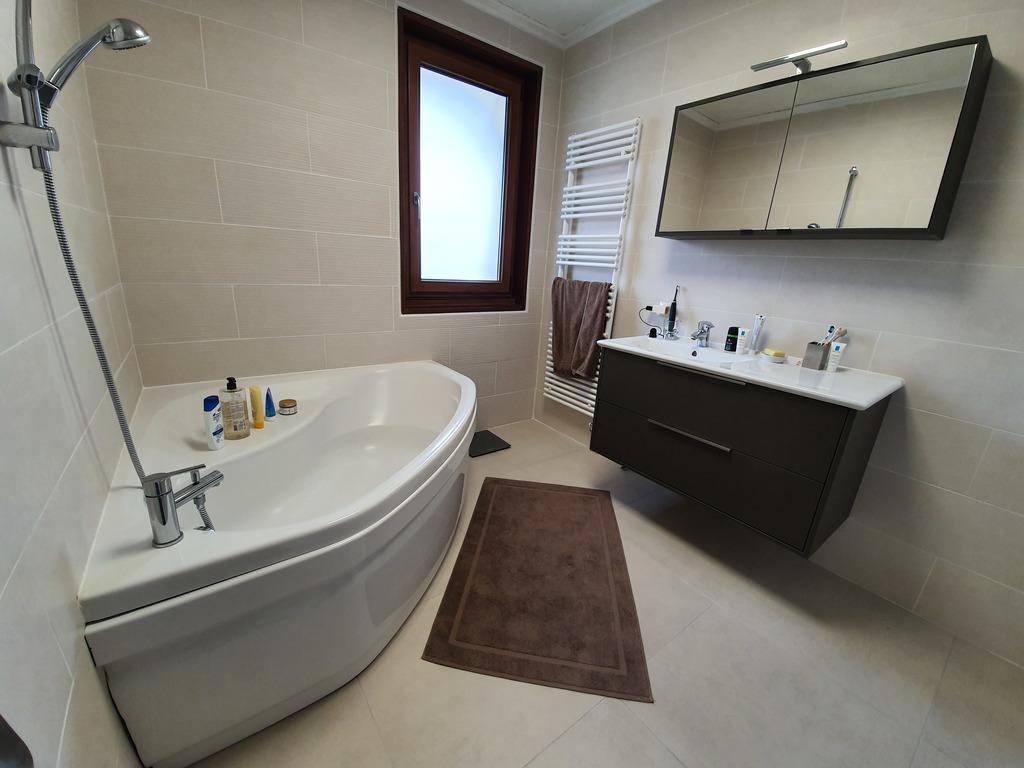 Main bathroom next to the master bedroom