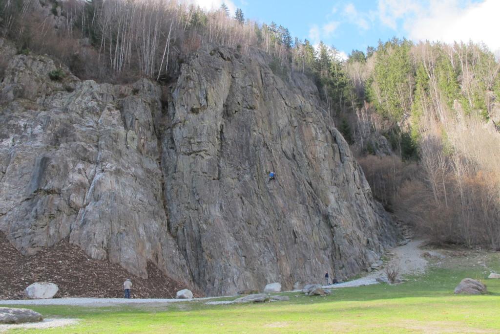 l'école d'escalade des Gaillands