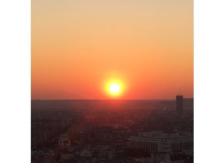 Paris Loft Sunset Views