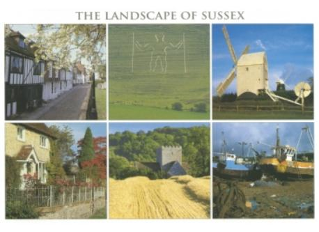 the Sussex countryside