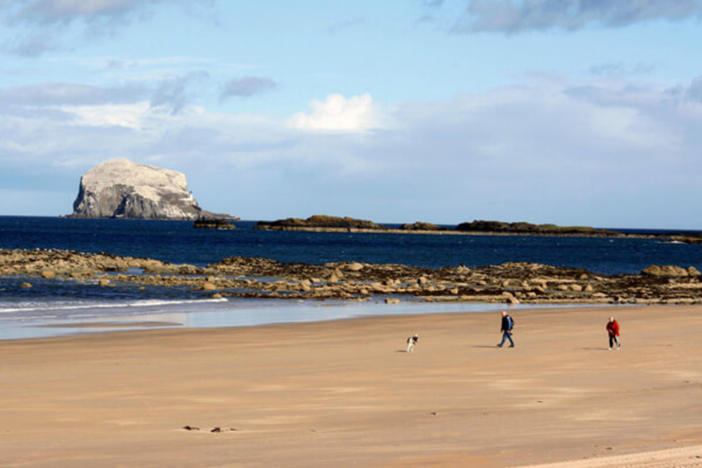 North Berwick and other East Lothian beaches (under 1hr by car)