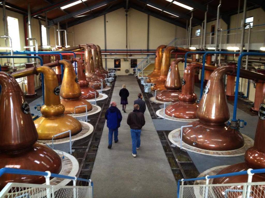 Distilleries (100+ to choose from, 7 within 1hr by car)