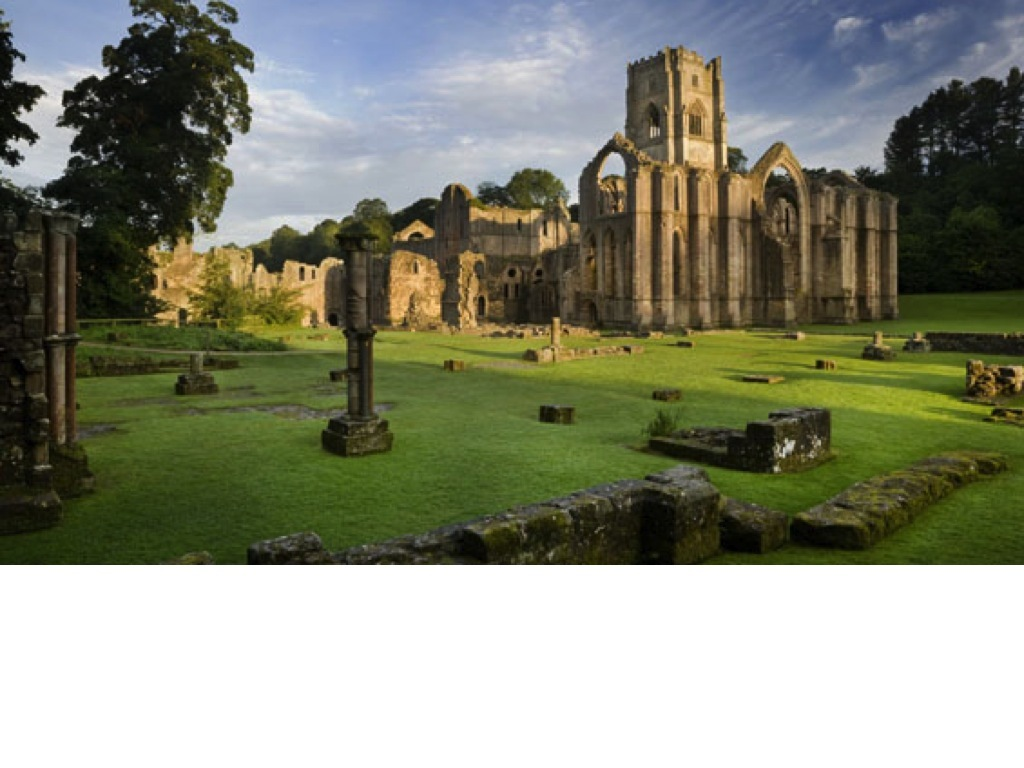 Fountains Abbey - 25mins drive. National Trust property, cafe and deer park.