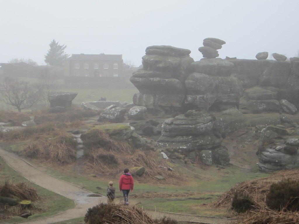 Brimham Rocks, a favorite family spot. National Trust.