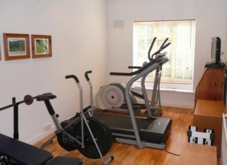Our gym room. You are welcome to use!