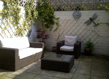 Garden Sofa & Chair