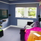 Upstairs TV den/ converts with double sofa bed into bedroom 5