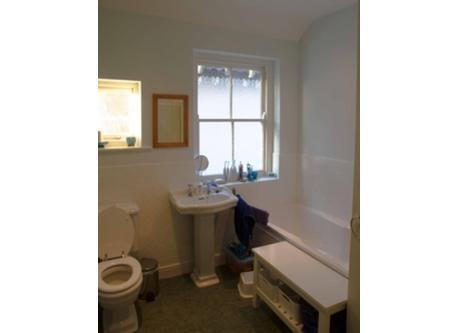 Upstairs bathroom/shower