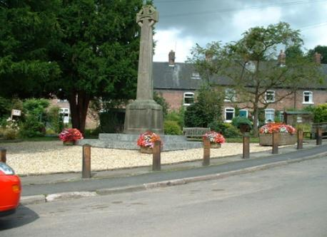 War memorial in Village centre