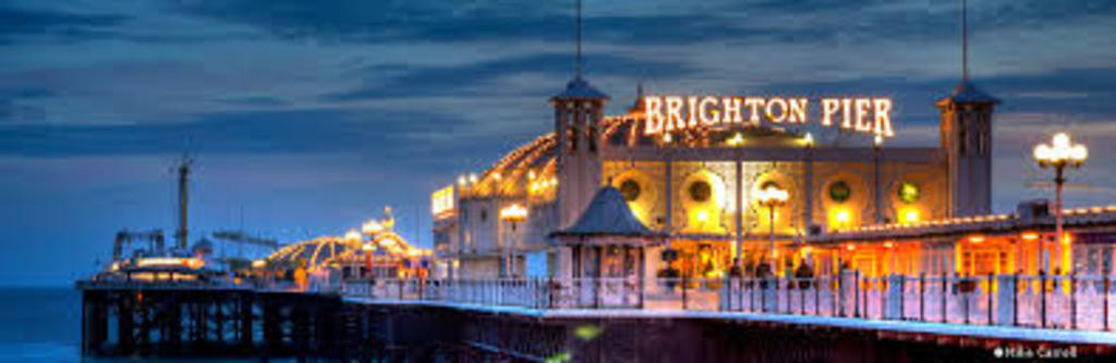 Brighton pier - Brighton is 10 mins by train from Lewes