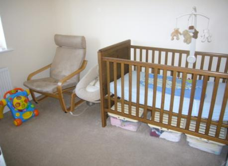 Bedroom 4 (Cot or bed for small child)