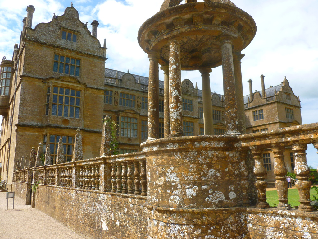 Montacute House  (National Trust) and gardens