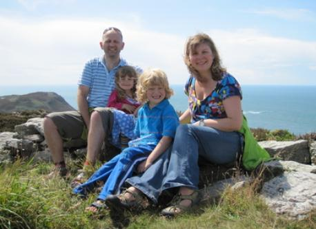 Elfyn, Ceinwen, Osian and Beth
