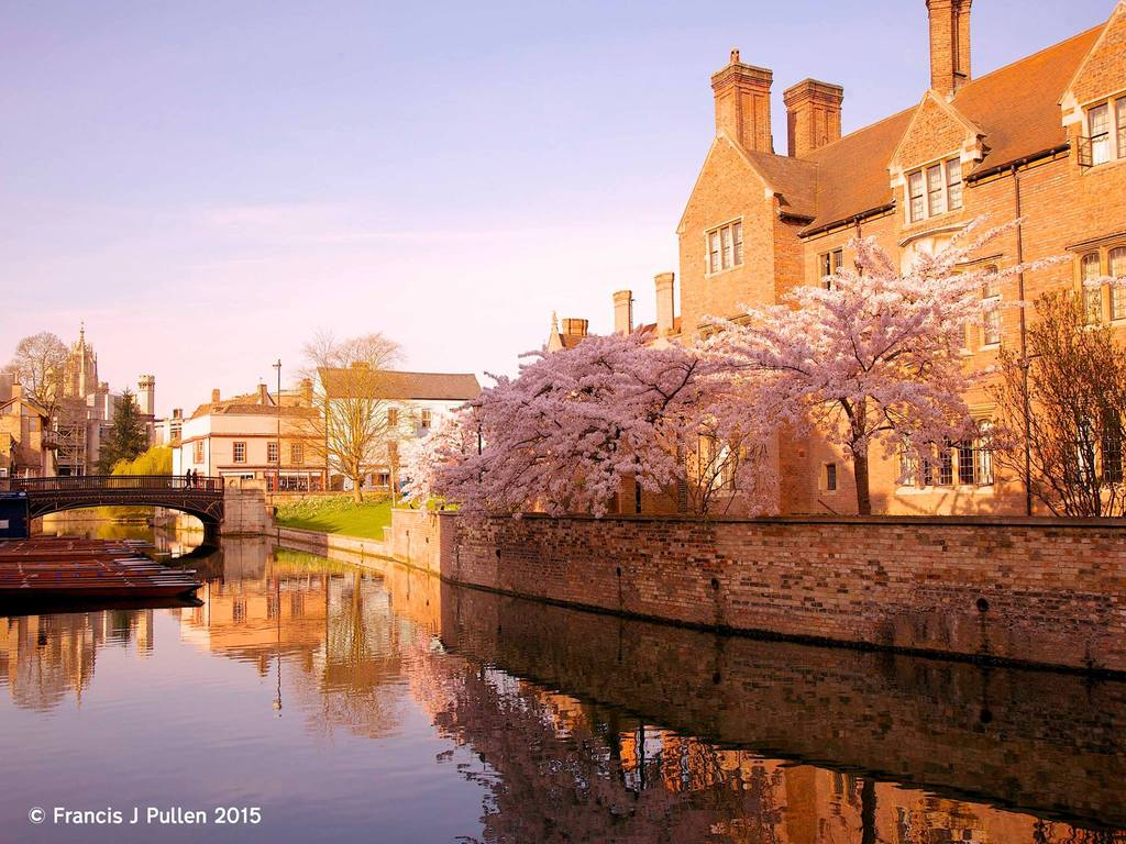River Cam, historic Cambridge & University