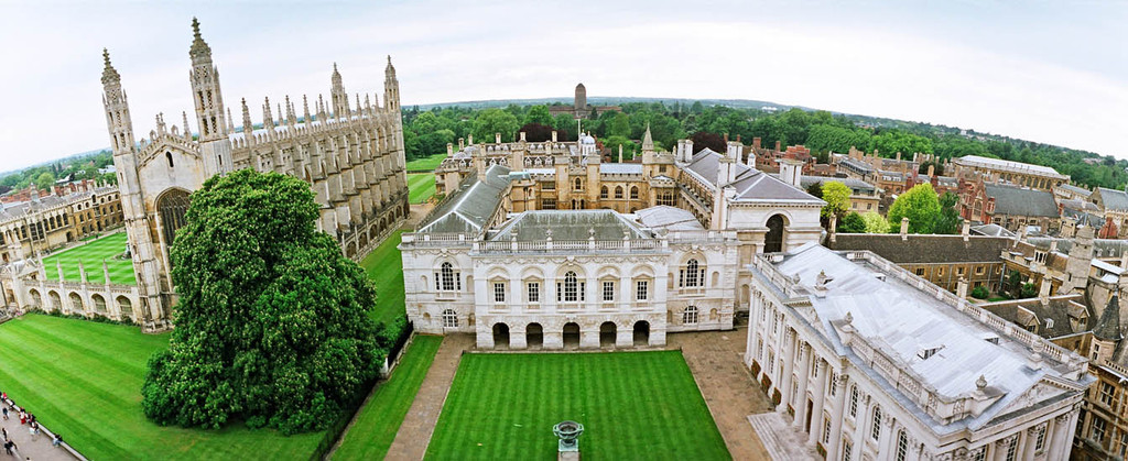 The historic Cambridge university colleges