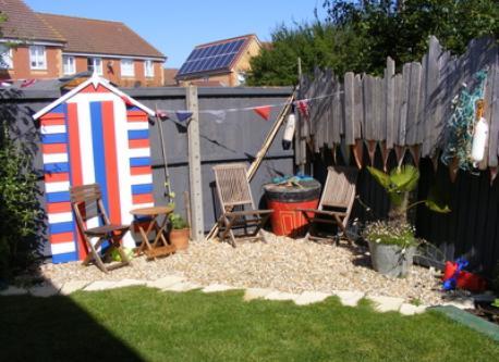 Our Seaside garden