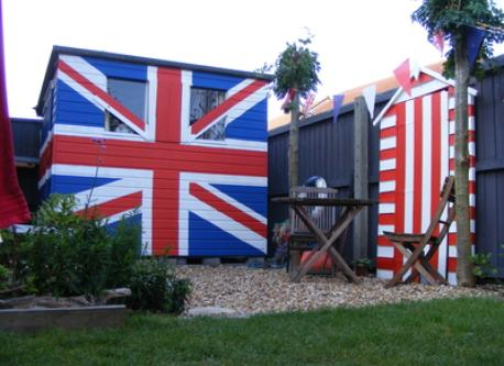 our new jubilee shed!