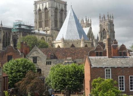 Minster from the walls