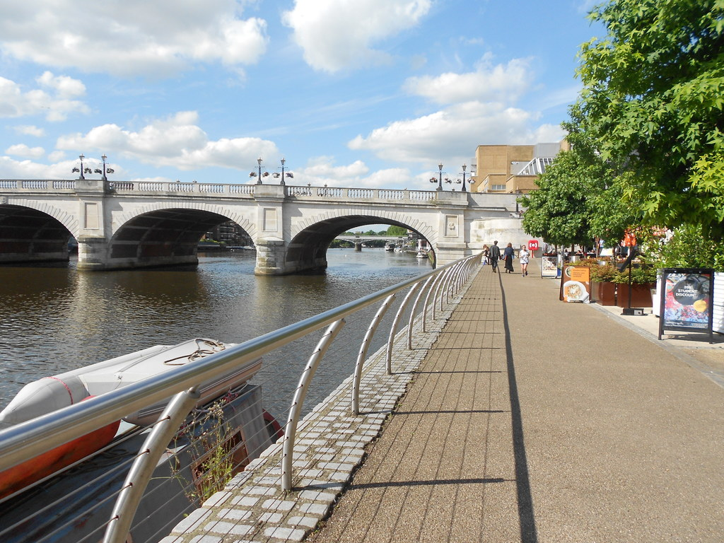 The River Thames at Kingston upon Thames