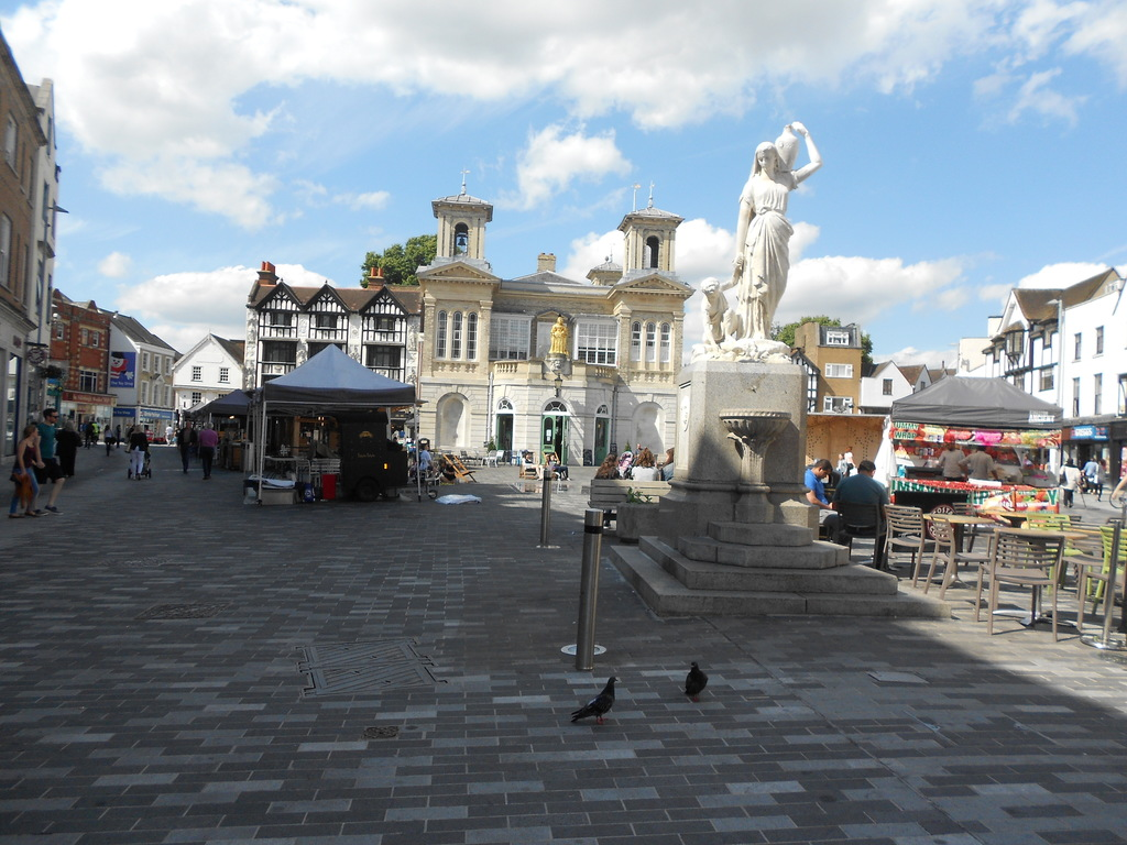 The market square, Kingston upon Thames