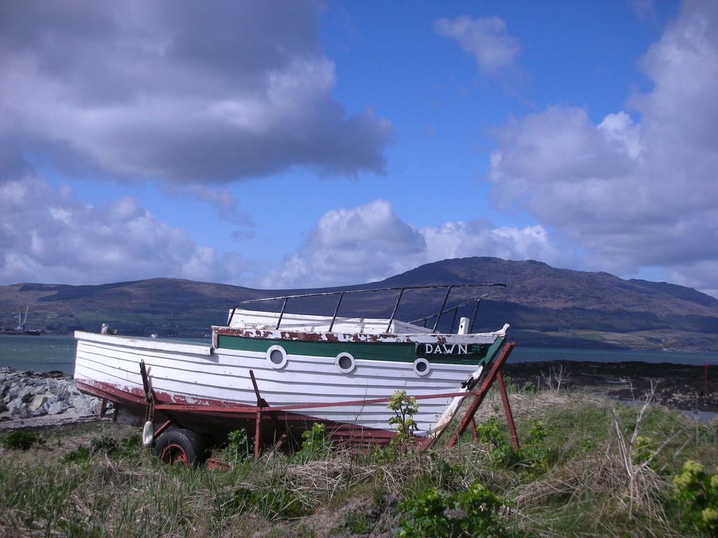Quiet places for picnics, from Greencastle you can now get a ferry across to beautiful Carlingford.