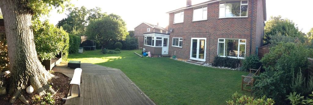 Garden from decking