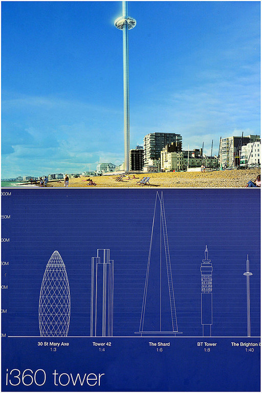 the new i360 viewing tower