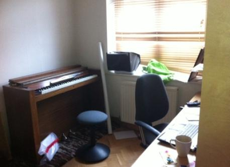 study with piano