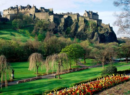 Edinburgh's world famous castle